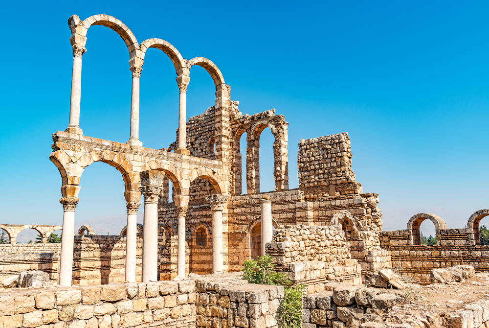 Great Palace of Umayyad Palace, Anjar, Lebanon