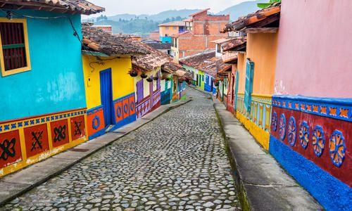 Guatape, Antioquia, Colombia