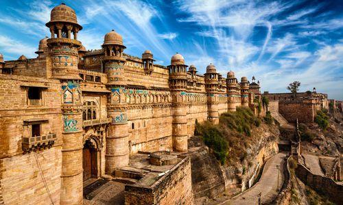 Gwalior fort, Madhya Pradesh, India
