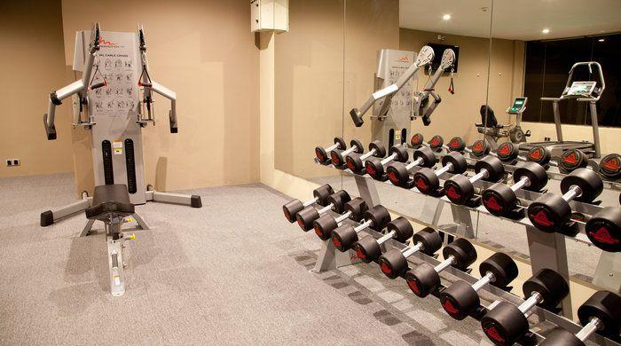 Gym, Uga Bay Resort, Passikudah