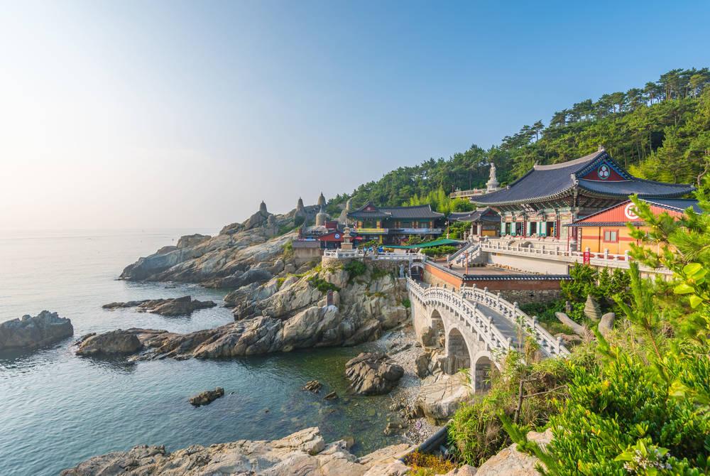 Haedong Yonggungsa Temple, Busan, Korea