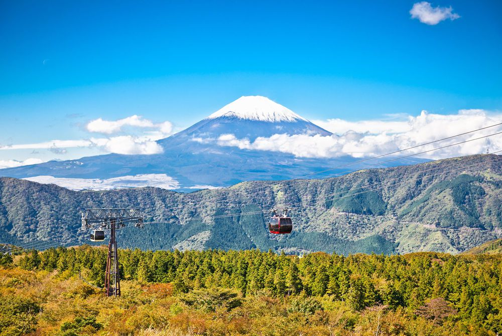 Hakone cable car, Japan