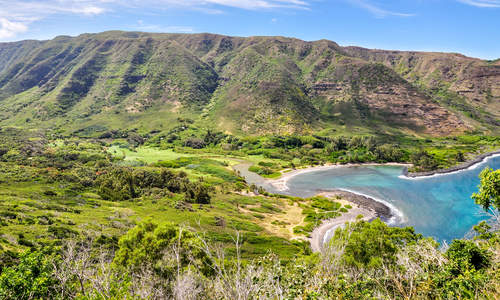 Halawa Beach Park and Halawa Valley, Molokai