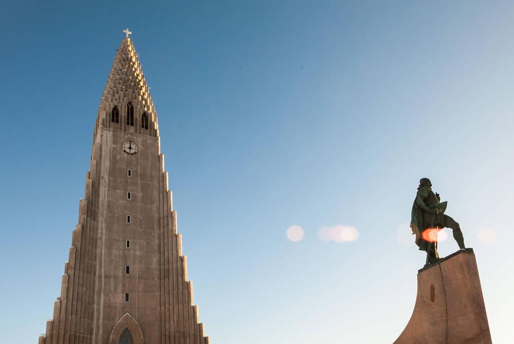 Hallgrimskirkja cathedral, Reykjavik