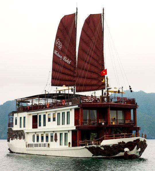 Halong Violet, Halong Bay, Vietnam