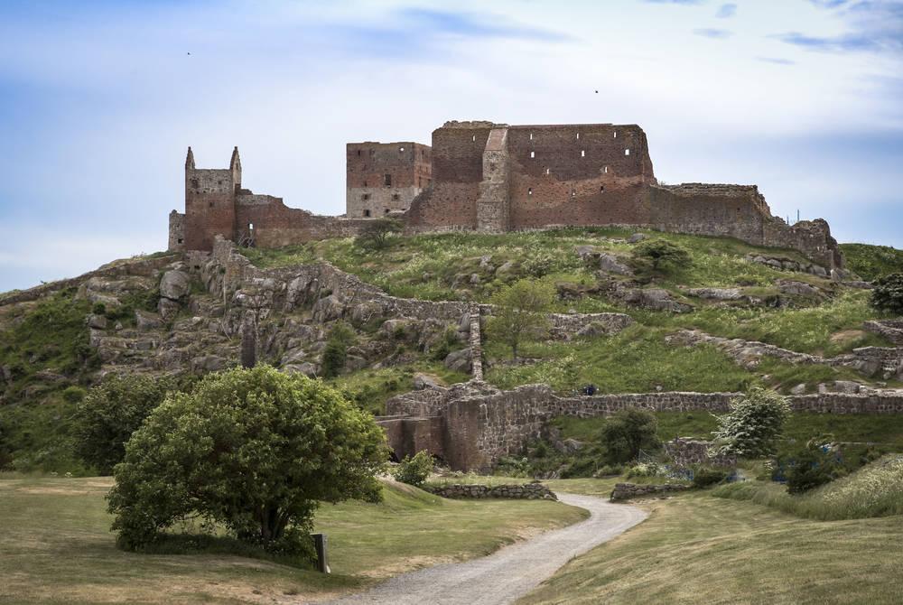 Hammershus Castle, Bornholm