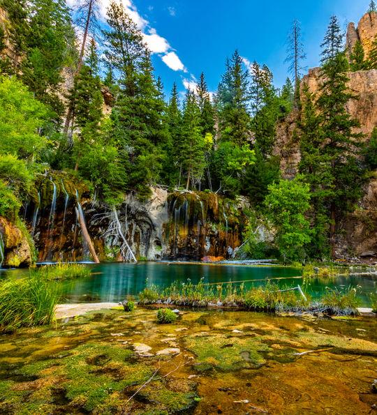 Hanging Lake near Glenwood Springs, Utah