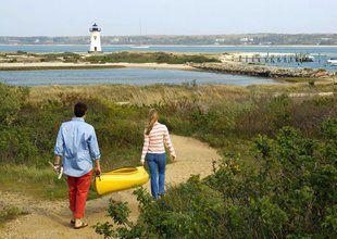 Harbor View Hotel, coastal walk