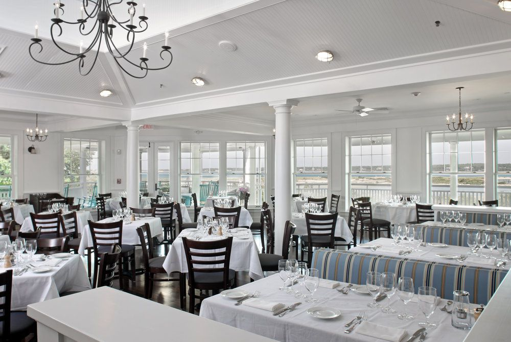 Harbor View Hotel, dining area
