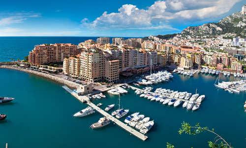 Harbour of Monte Carlo, Monaco