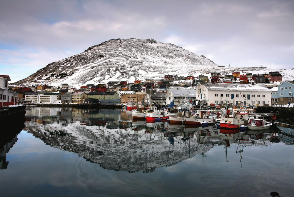Harbour at Honningsvåg
