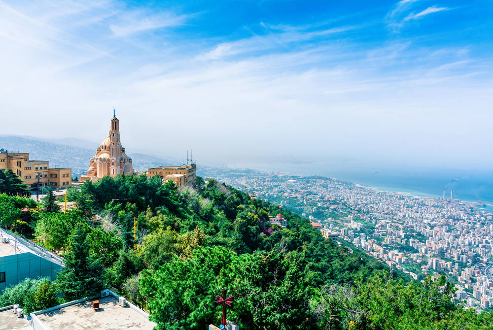 Harissa church, Lebanon