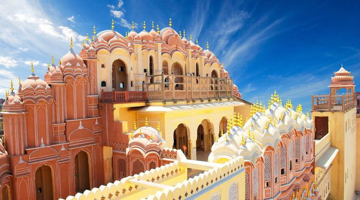 Hawa Mahal, the Palace of Winds, Jaipur