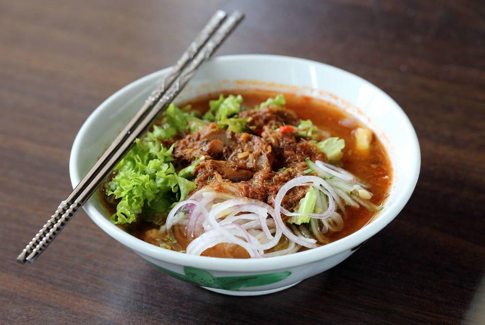 Hawker market noodles