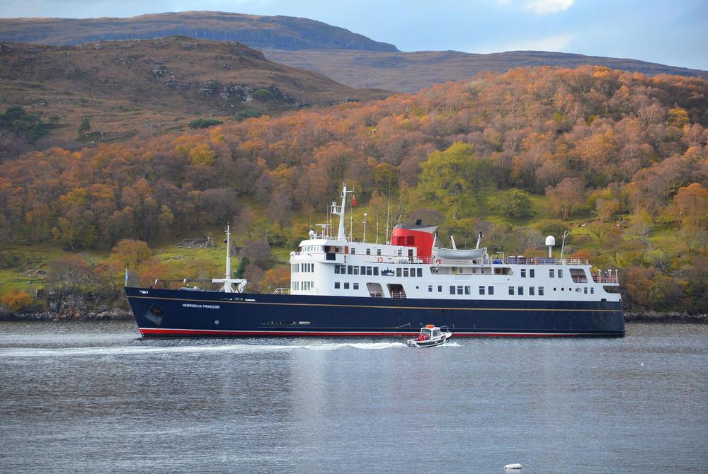 Hebridean Princess sailing around Scotland