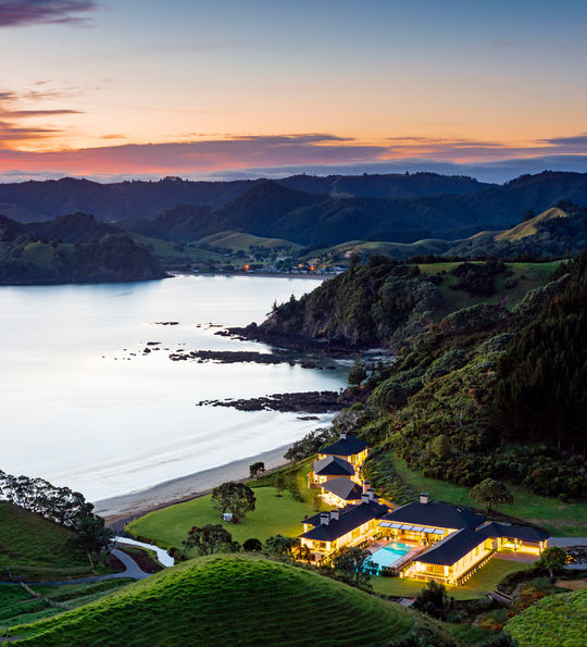 Helena Bay Lodge, New Zealand
