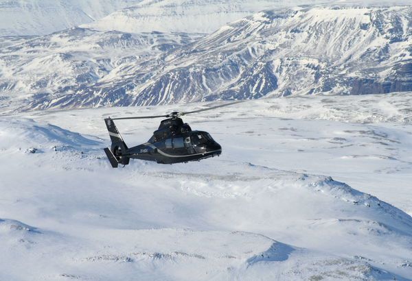 Helicopter Tours at Hotel Ranga, Southern Iceland