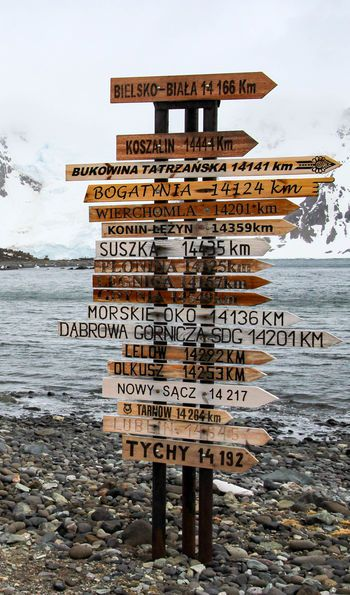 Henryk Arctowski Polish Antarctic Station, King George Island in Antarctica