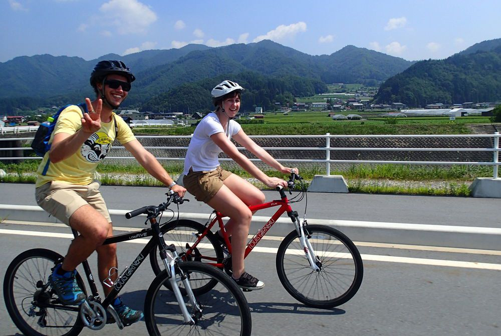 Hida Satoyama Cycling, Japan