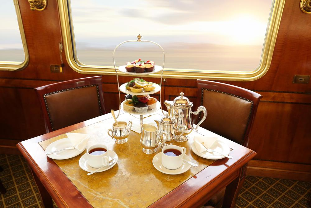 High Tea, Blue Train