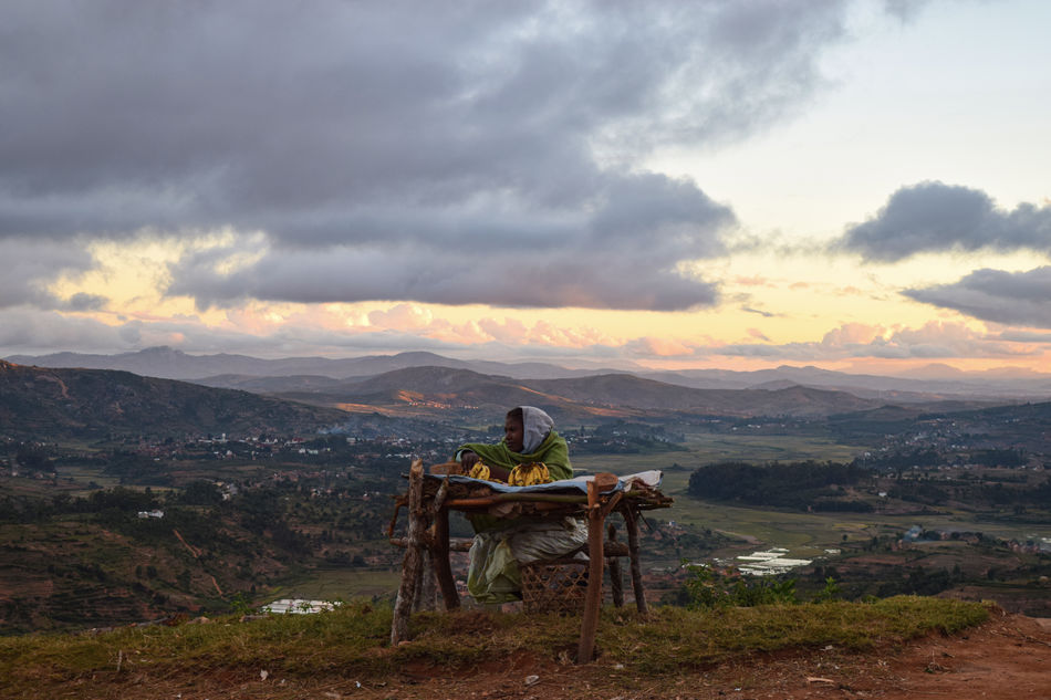 The highlands near Ambalavao
