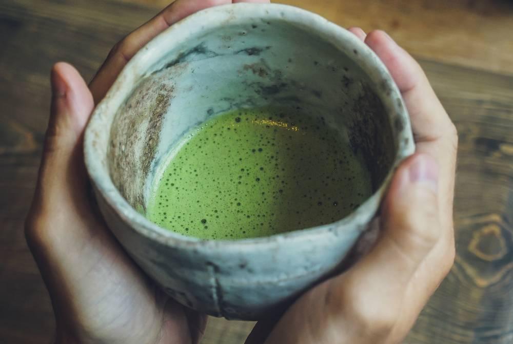Matcha Green Tea in Osaka