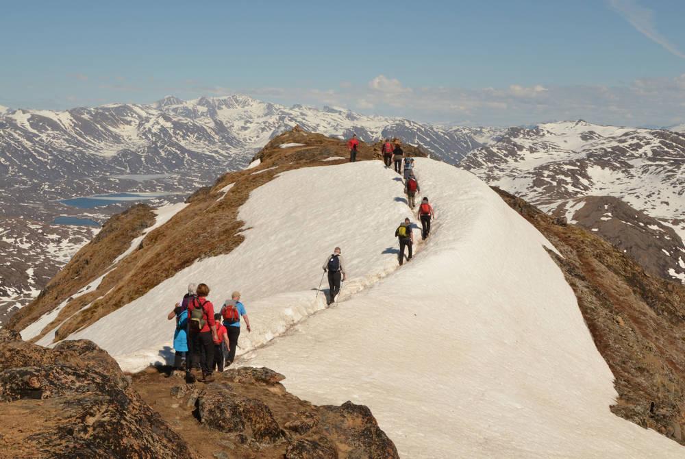 Hike near Sisimiut, Greenland