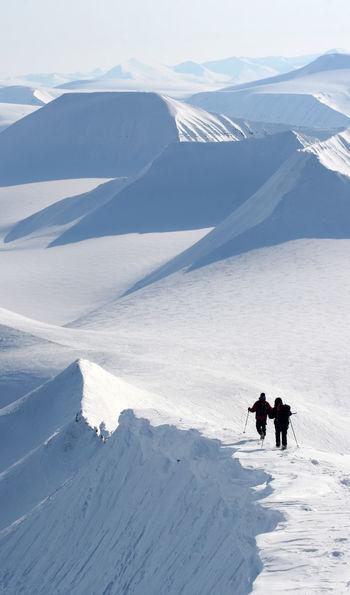 Hiking, Svalbard