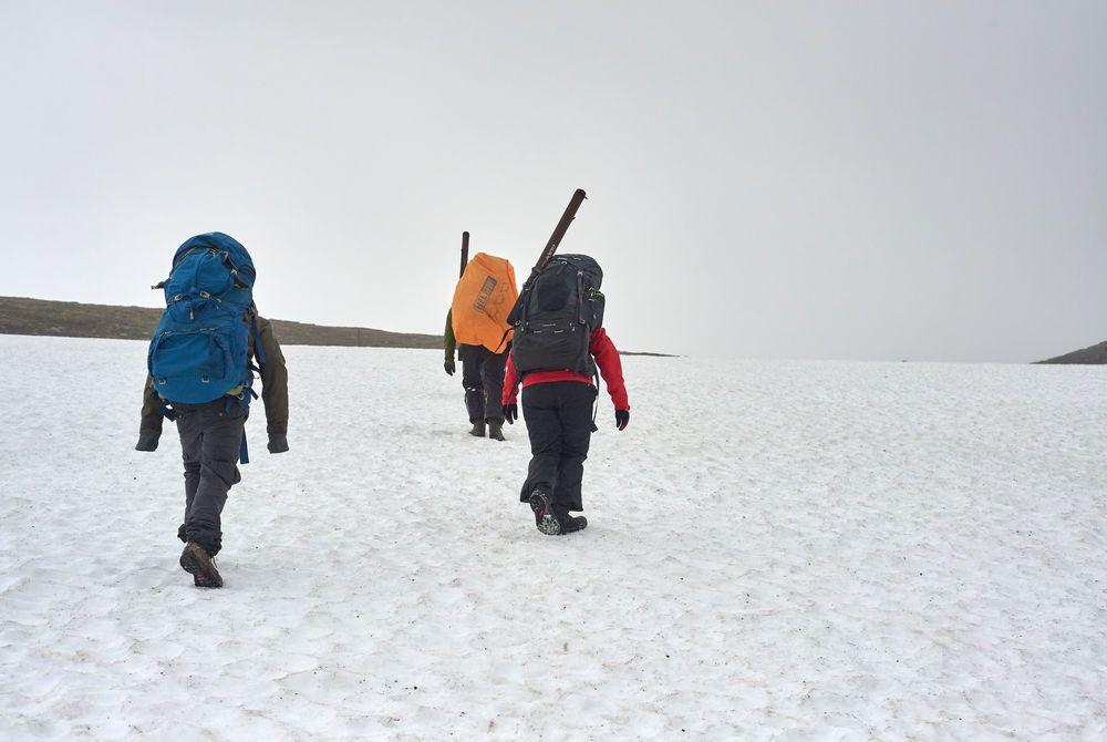 Hiking in Abisko, Sweden