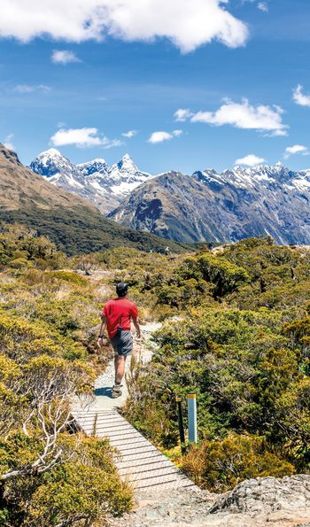Hiking the trails of New Zealand's alpine South Island