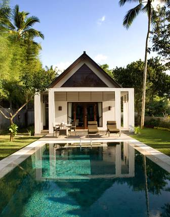 Hill-view villa, Samaya Ubud