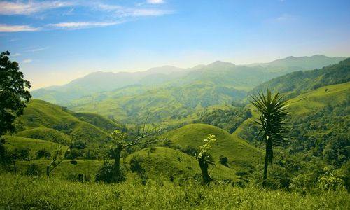 Hills and mountains, Costa Rica