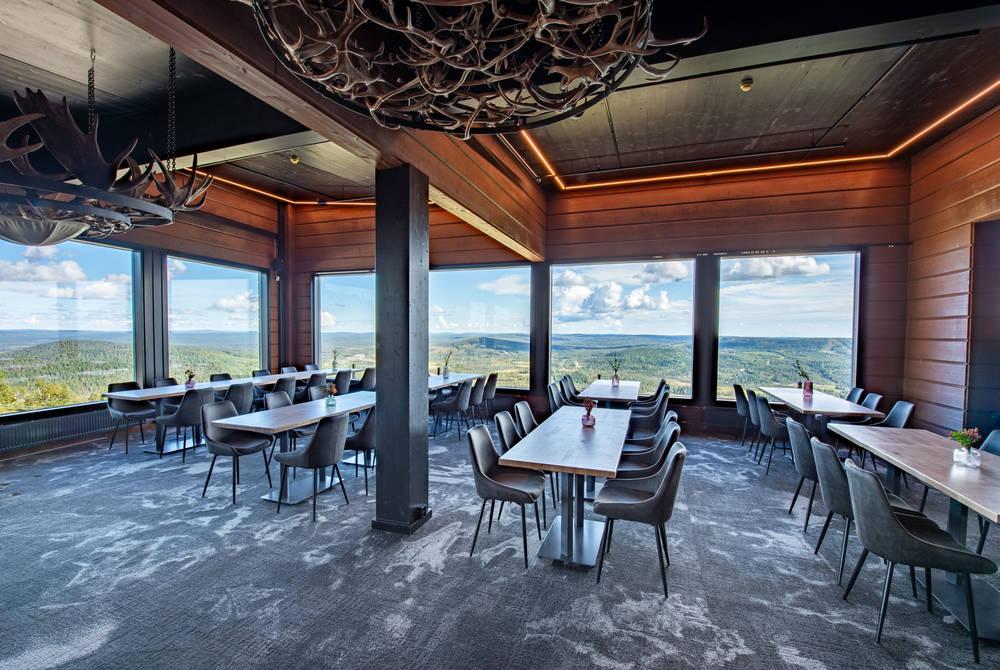Hilltop restaurant, Iso-Syote, Finland