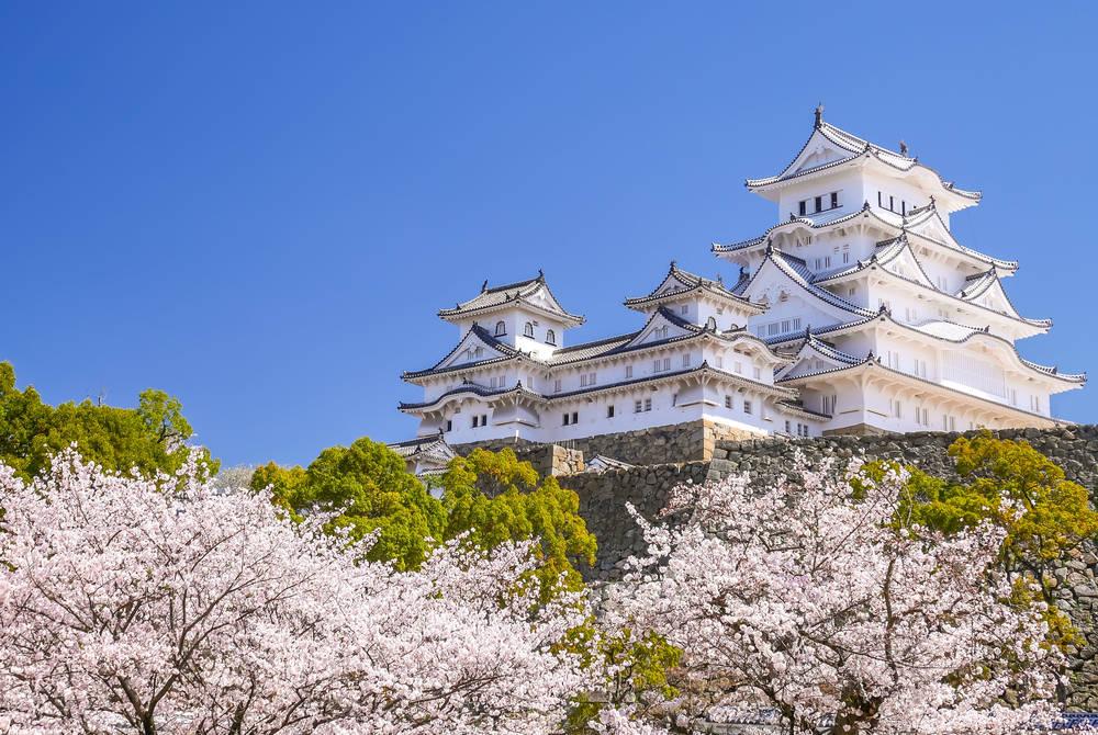 Himeji Castle, near Kobe