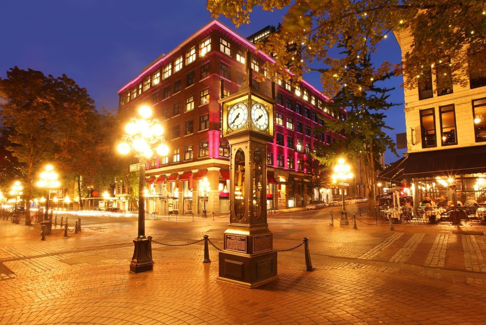 Historic Steam Clock, Gastown, Canada