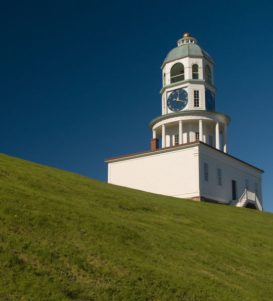 Historic Town Clock on Citadel Hill in Halifax NS