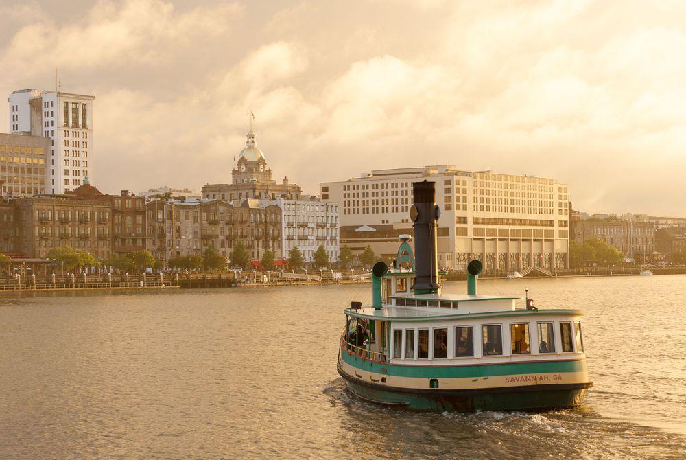 Historic Waterfront District, Savannah