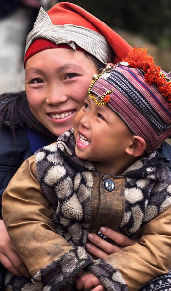 Hmong people of Sapa, Northern Vietnam