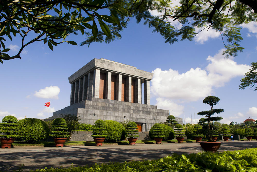 Ho Chi Minh Mausoleum and gardens