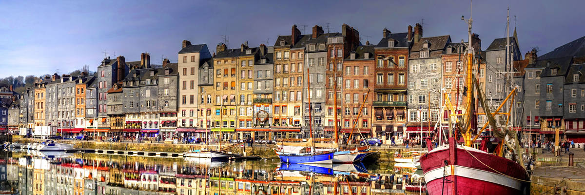 Honfleur, normandy city in France