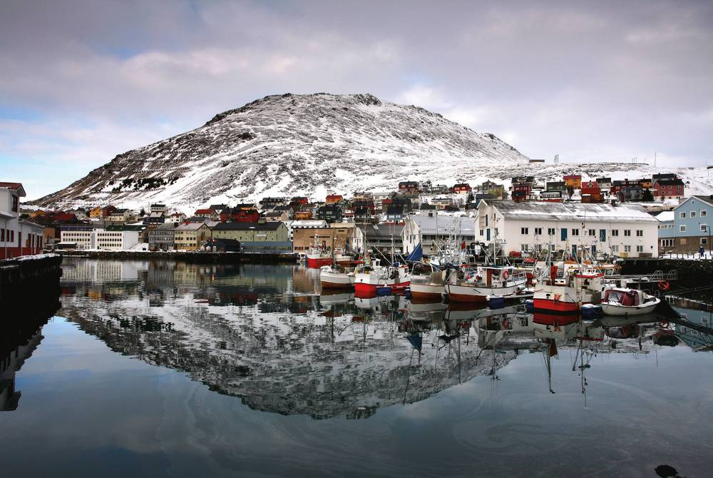 Honningsvag Harbour, Norway