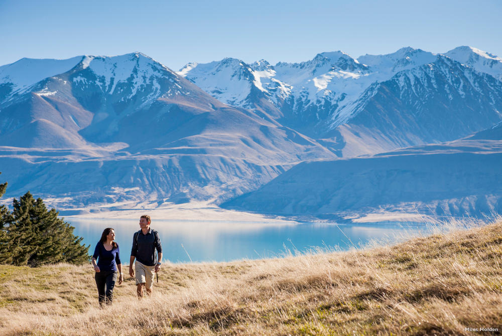 Hiking in Mt. Cook National Park