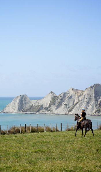 Horse treks, The Farm at Cape Kidnappers