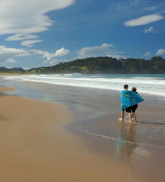 Hot Water Beach, Coromandel Peninsula, North Island, New Zealand