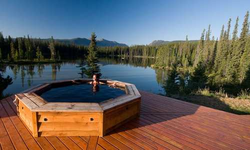 Hot tub, Chilko Experience