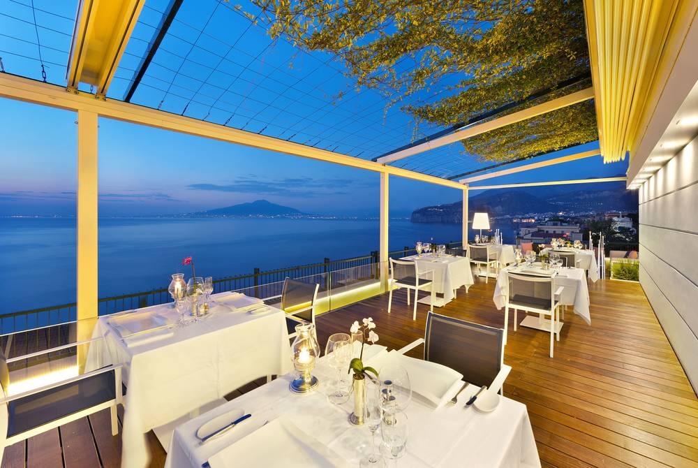 Vittoria Terrace restaurant