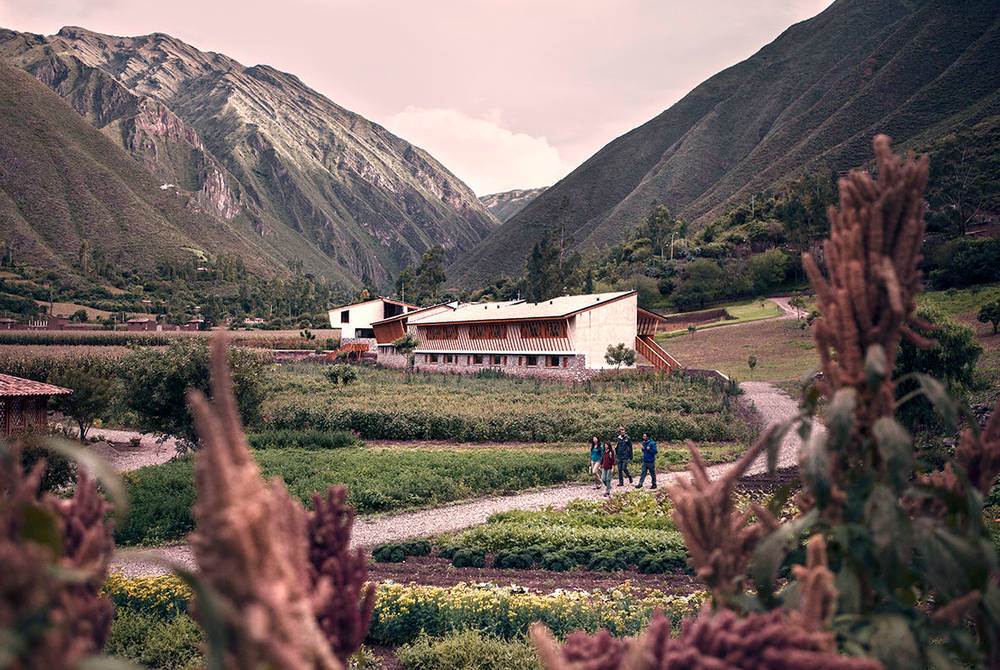 Hotel exterior, Explora Valle Sagrado, Peru