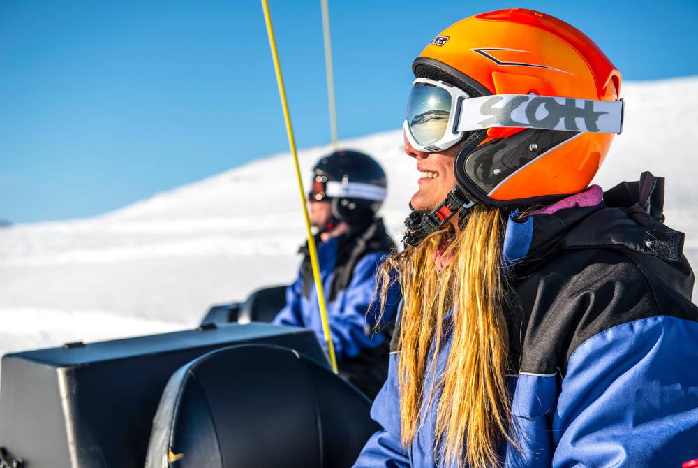 Skiing, Bjorkliden