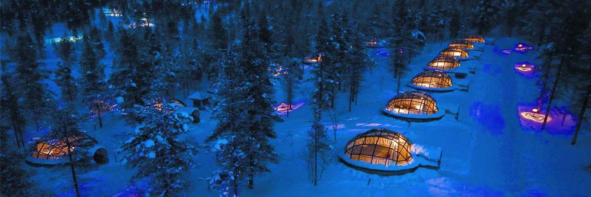Kakslauttanen, Finnish Lapland