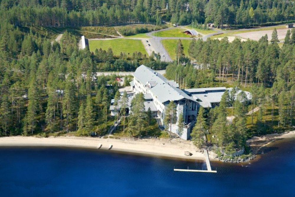Hotel Kalevala aerial